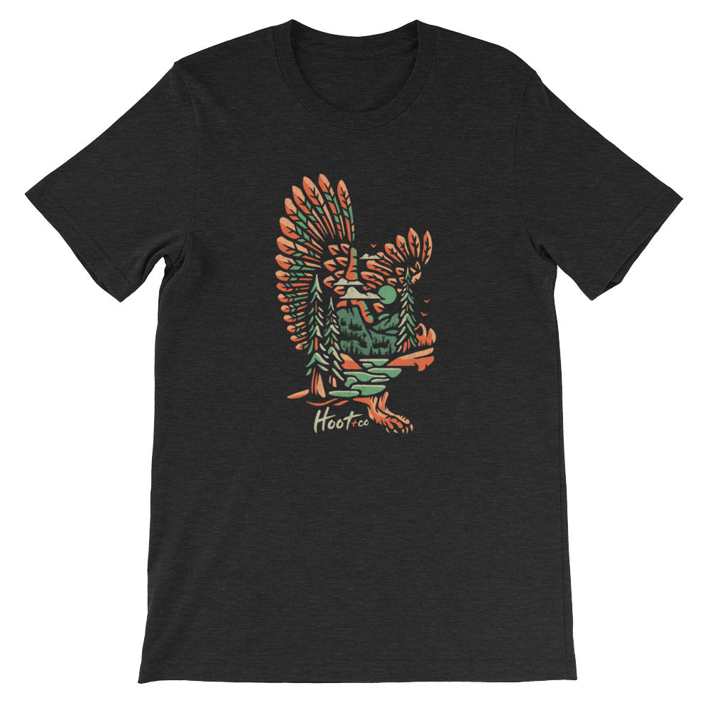 Feathered Owl Unisex T-Shirt