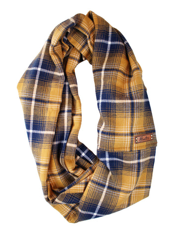 Saylor Flannel Infinity Scarf