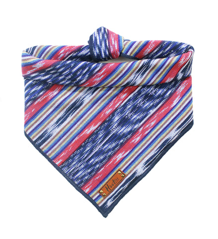 Watercolor Triangles Bandana