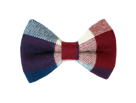 Rae Flannel Bow Tie