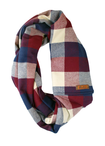Rae Flannel Infinity Scarf