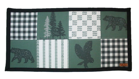 Olive Owl Water Resistant Mat