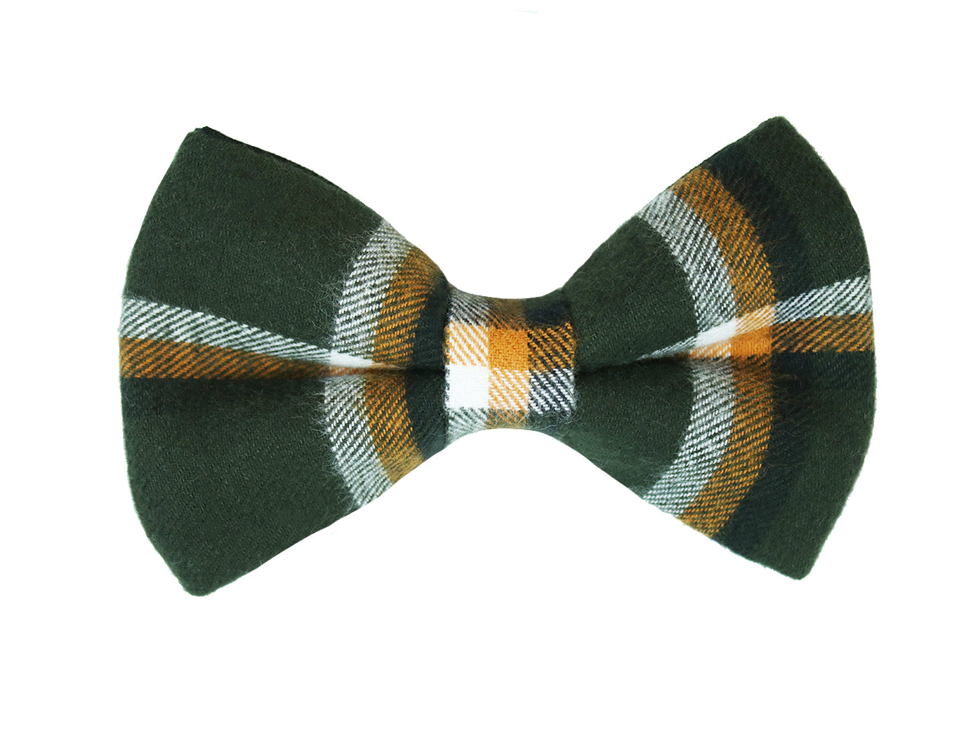 Timber Flannel Bow Tie