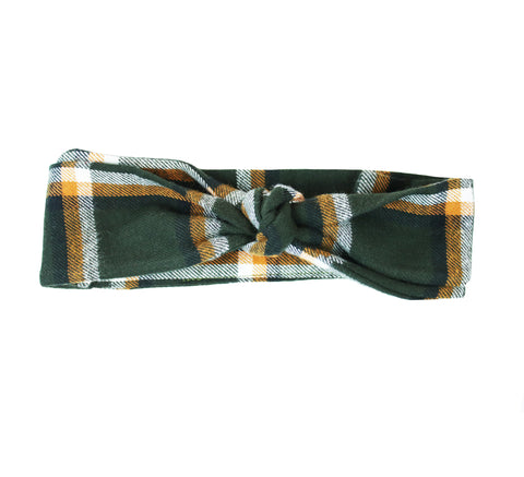 Timber Flannel Headband