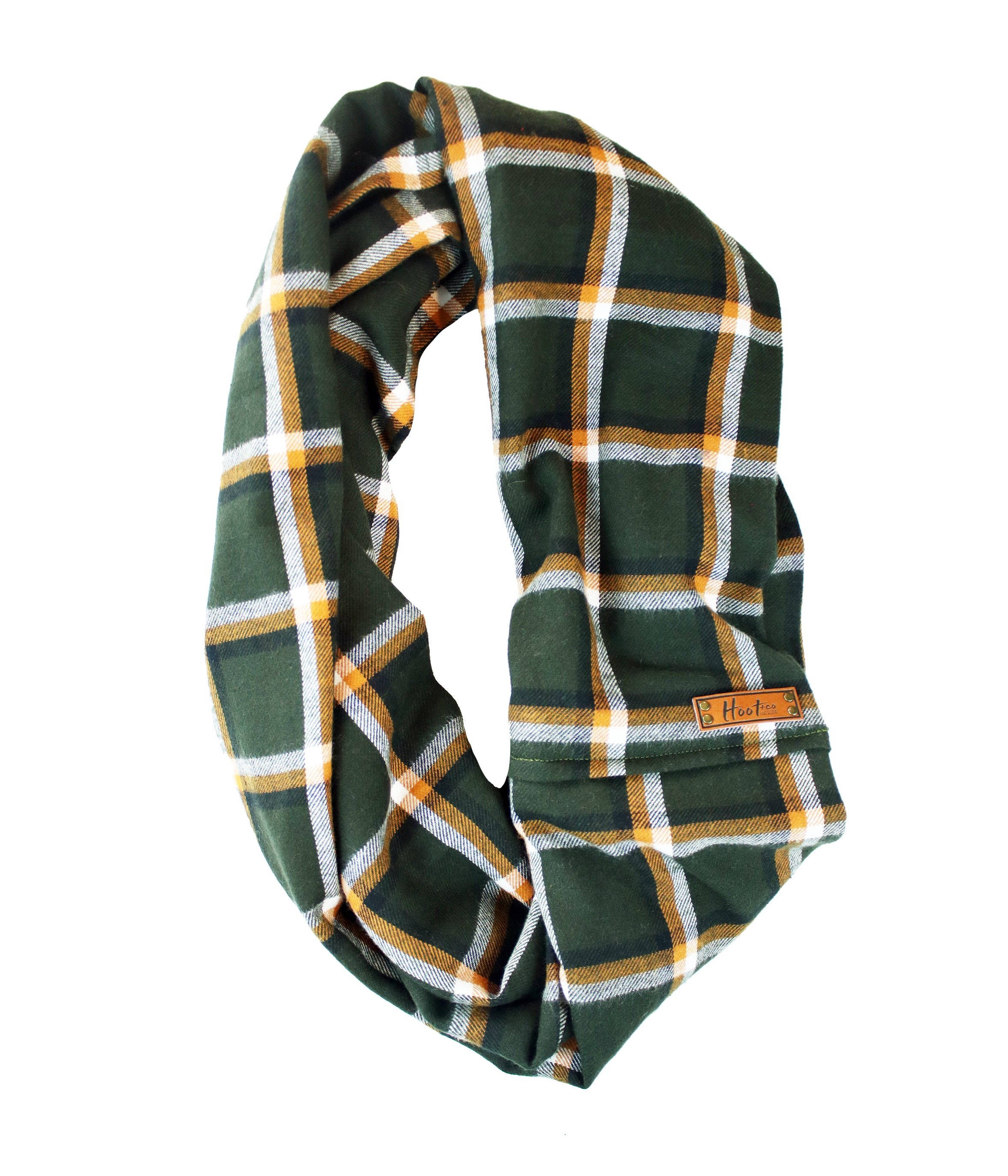 Timber Flannel Infinity Scarf