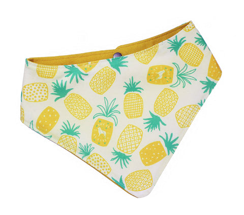 SoCal Aussie Waxed Canvas Pineapple Bandana