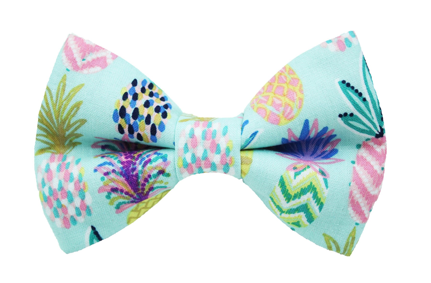 Pineapple Sketch Bow Tie