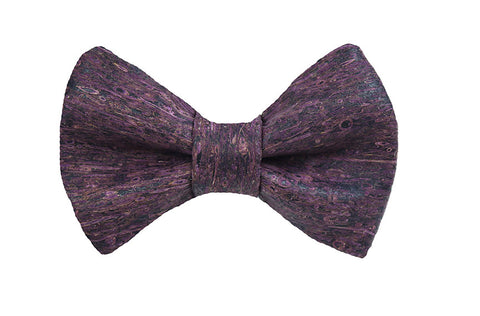 Cork - Purple Bow Tie