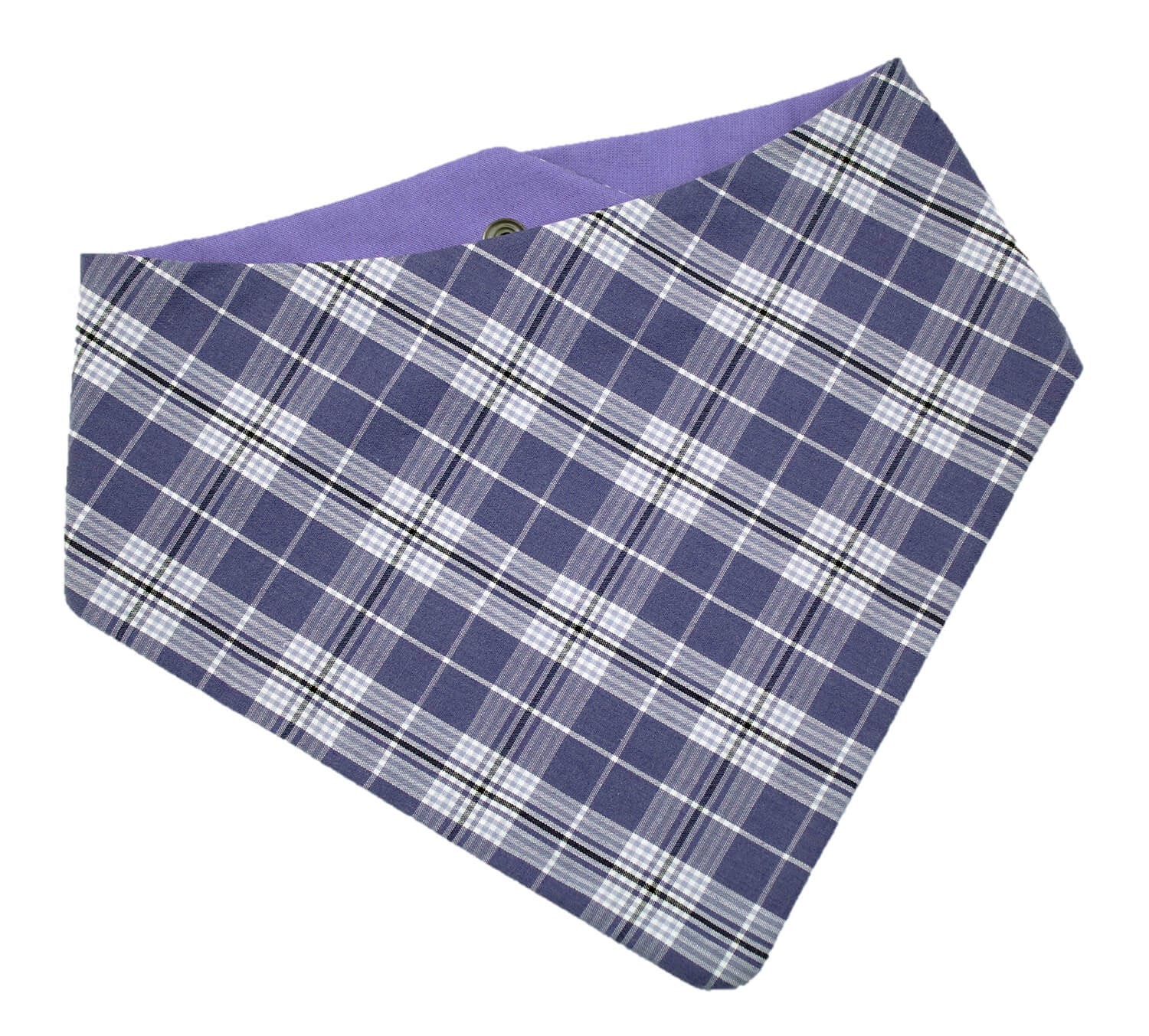 Lilac Plaid Bandana