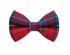 Theo Flannel Bow Tie