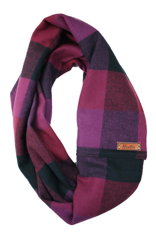 Rue Flannel Infinity Scarf