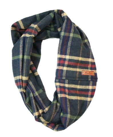 Jace Flannel Infinity Scarf