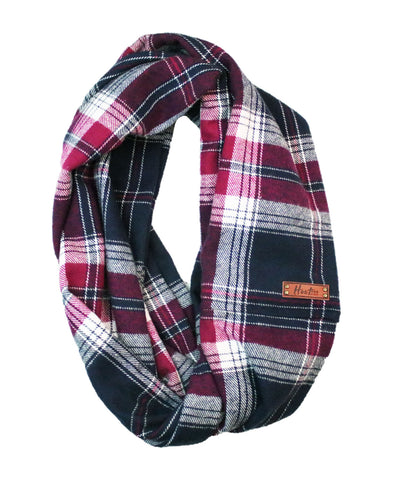 Averi Flannel Infinity Scarf