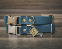 Slate Blue Quick Release Collar