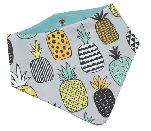 Tropical Pineapple Bandana