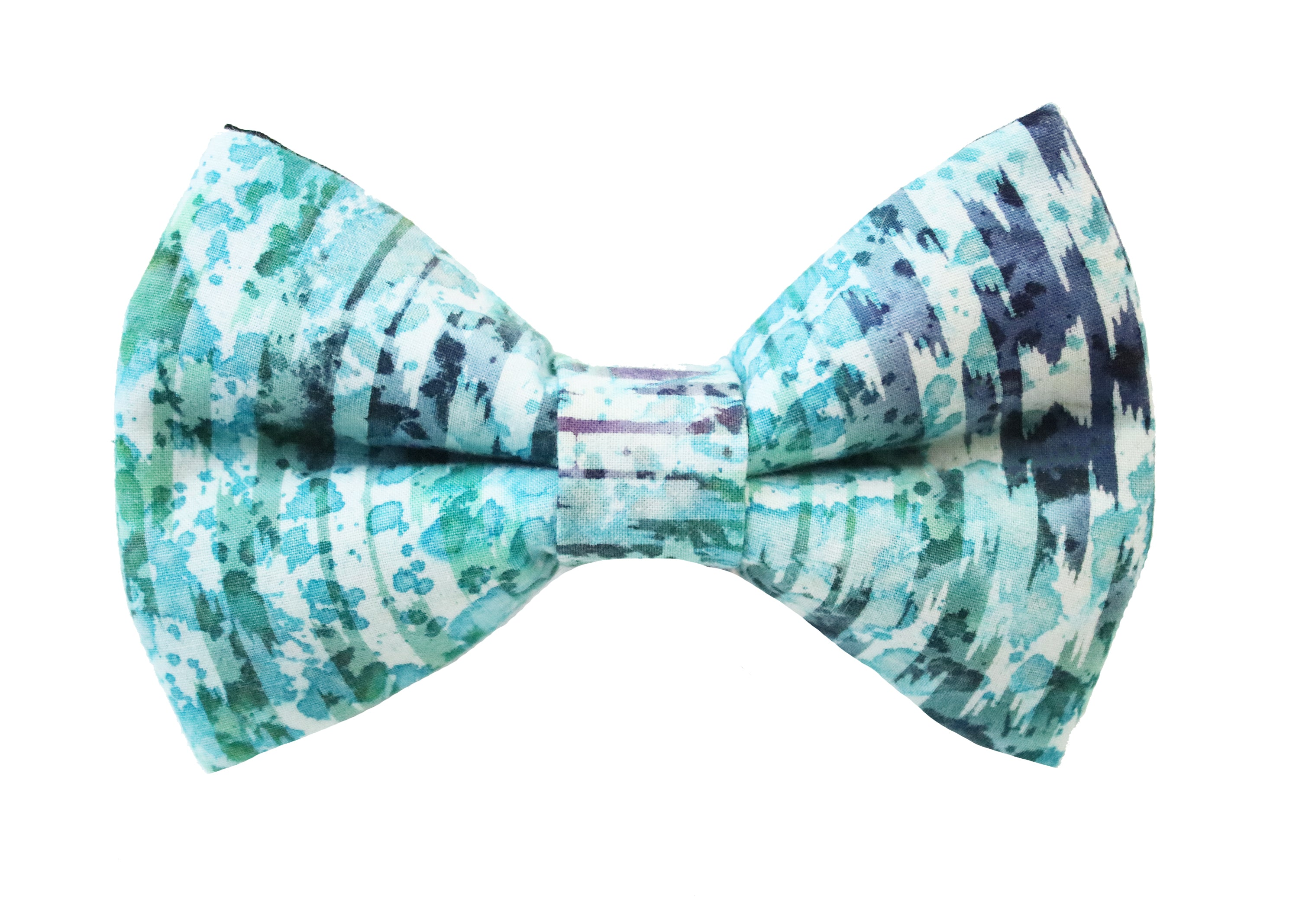 Watercolor Splash Bow Tie