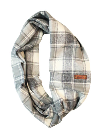 Ivy Flannel Infinity Scarf