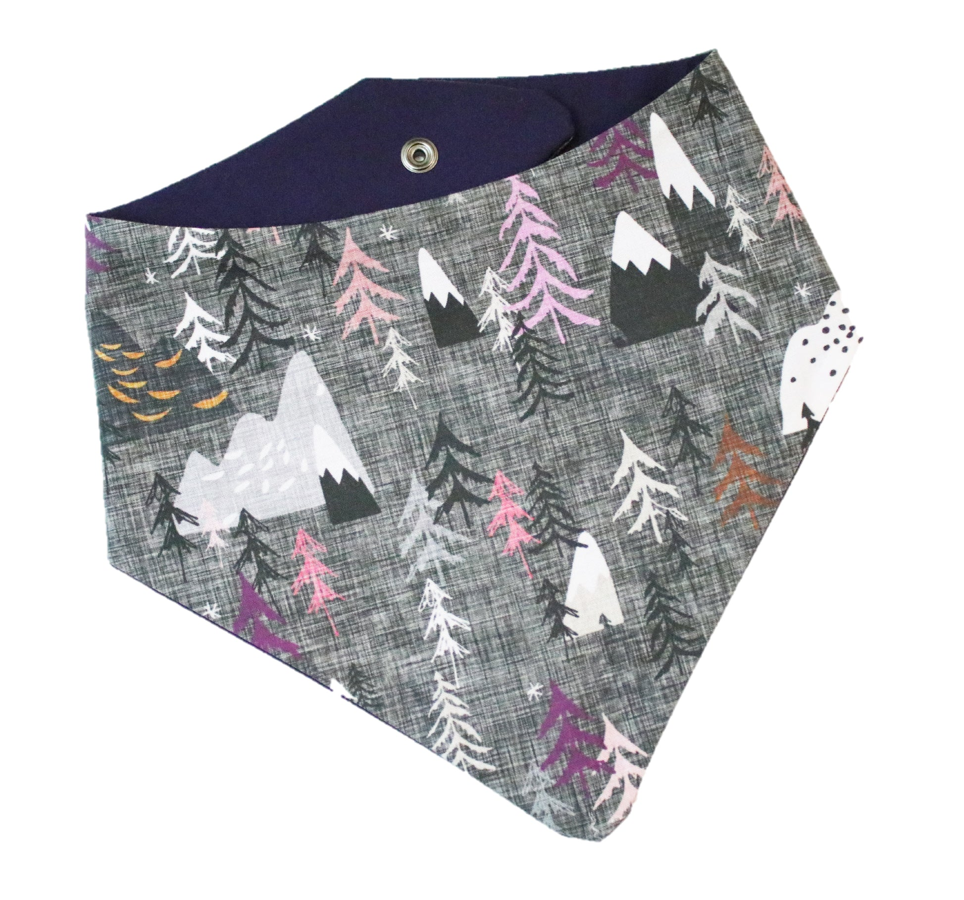 Woodland Purple Bandana