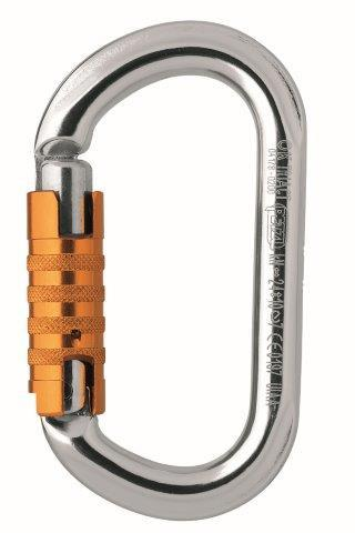 Petzl OK Oval Tri-Act Carabiner