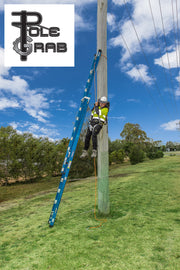 Pole Grab Ladder Safety Securing System