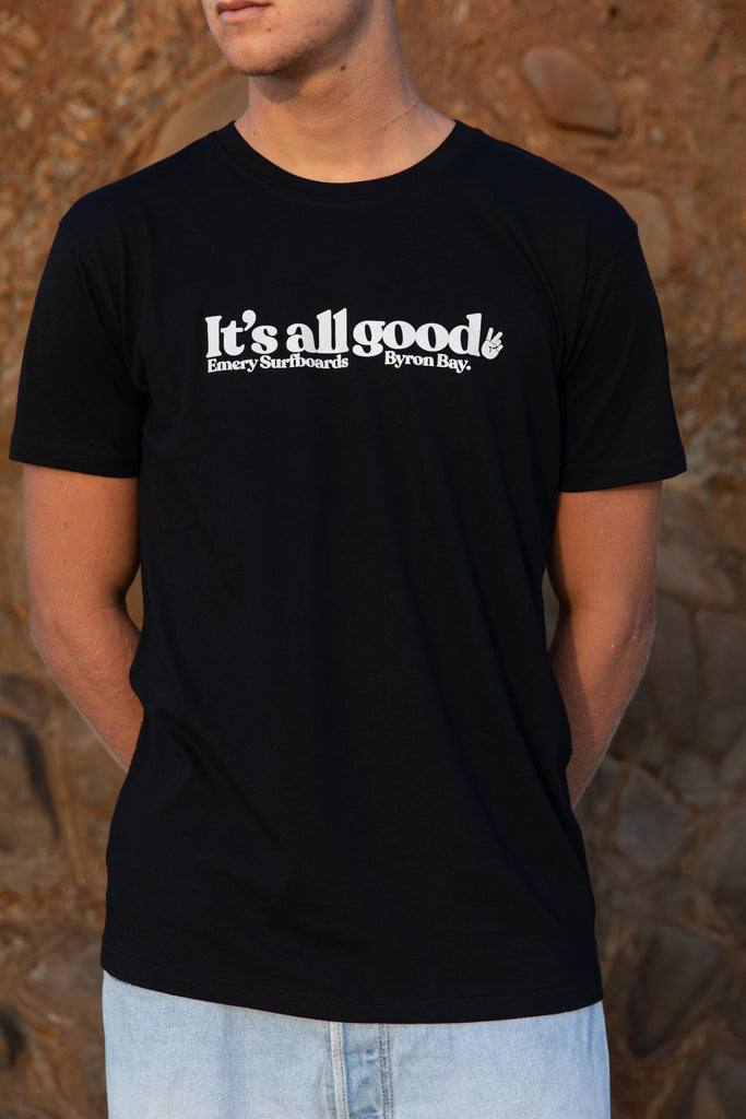 THE GOOD TEE / BLACK