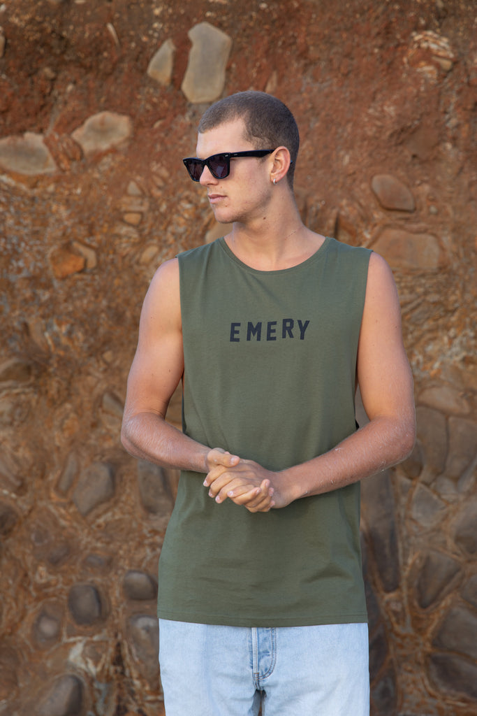 HIGHS COOL BAND CUT TEE / ARMY