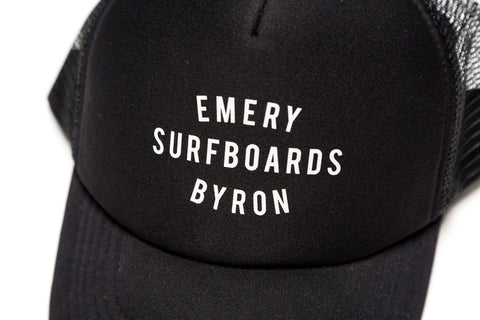 EMERY BYRON BAY TRUCKER / BLACK