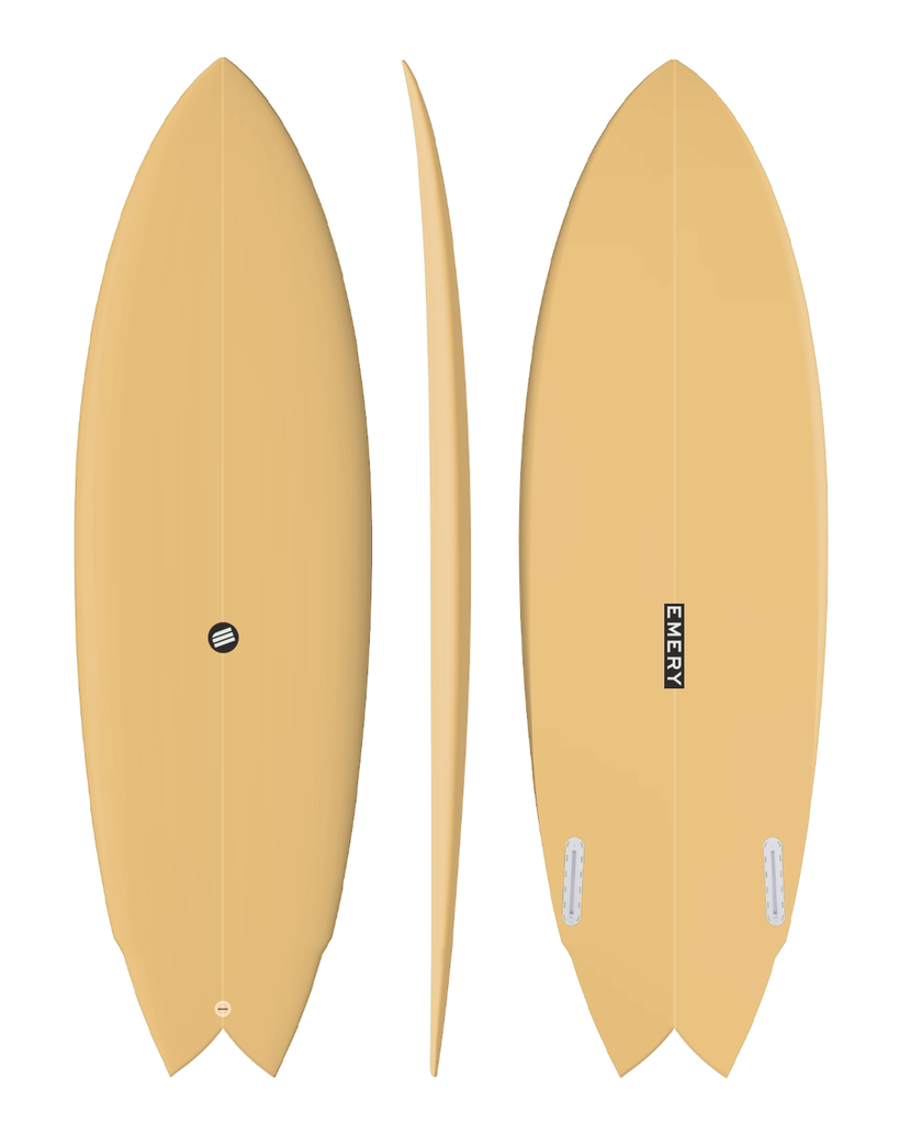 Retro Bay Twin Fin - Custom Order