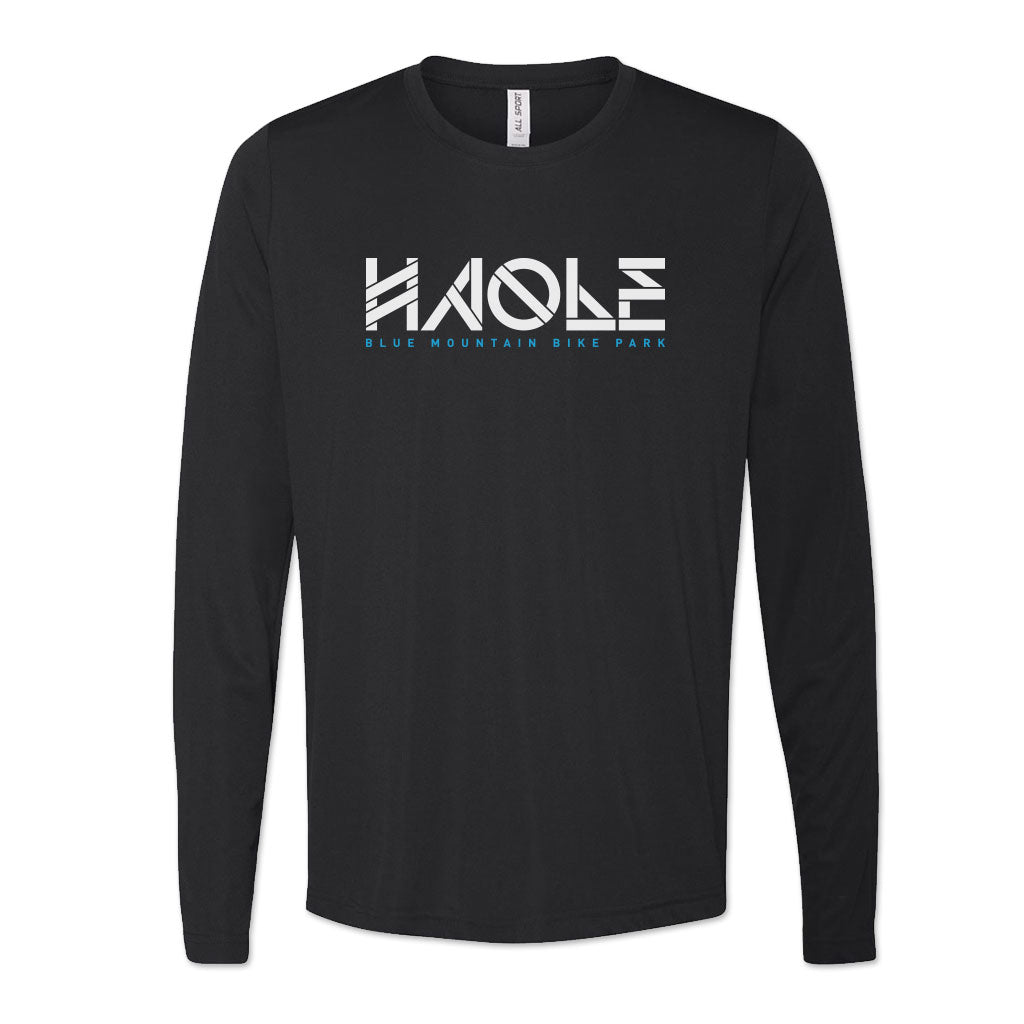 Men's Haole Raglan Tech Tee LS