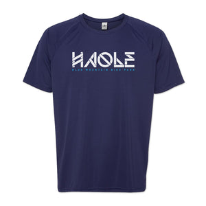 Men's Haole Raglan Tech Tee