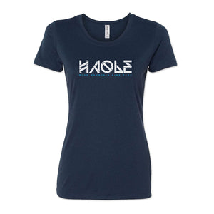Women's Haole Raglan Tech Tee