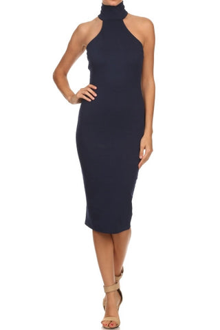 'Take Me' Turtleneck Bodycon Dress