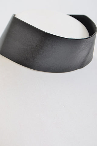 'Leather & Lux' Vegan Leather Choker