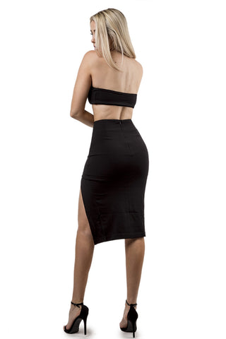 'Split Up' Two Piece Skirt Set
