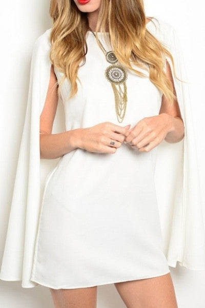 'Catch Me' Cape Dress