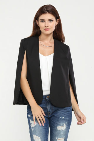'In The Wind' Cape Blazer