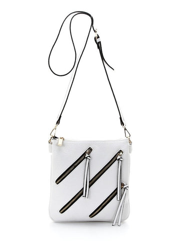 'Zip It' Cross-body Bag