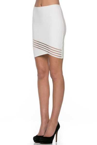 Ponti Verona Skirt with front trim detail