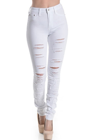'Brittany' Destroyed Skinny Jeans