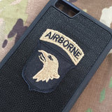 101st airborne air assault army cop patch phone case