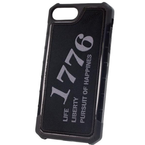 1776 LIBERTY - Embroidered Bumper Case - iPhone 6 Plus / 7 Plus / 8 Plus