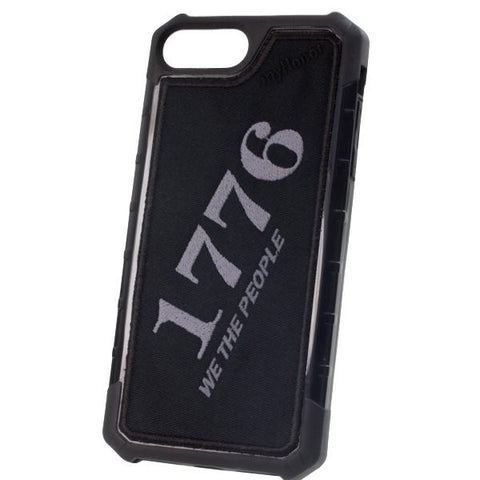 1776 THE PEOPLE - Embroidered Bumper Case - iPhone 6 Plus / 7 Plus / 8 Plus