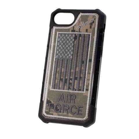 AIR FORCE - Embroidered Bumper Case - iPhone 6 / 7 / 8 - ABU
