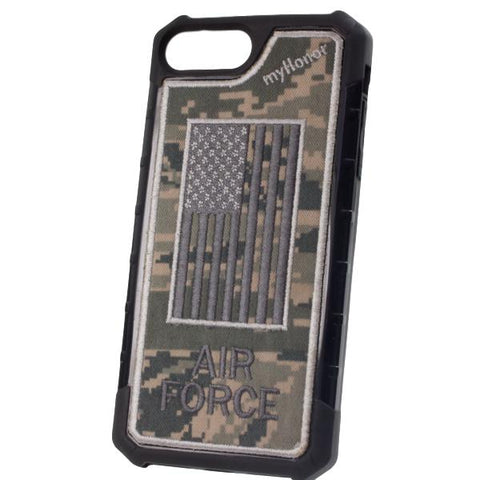 AIR FORCE - Embroidered Bumper Case - iPhone 6 Plus / 7 Plus / 8 Plus - ABU