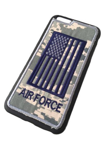 US AIR FORCE - Fabric Cover - iPhone 6Plus - Locking Module - ABU