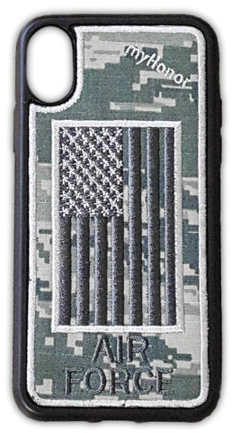 AIR FORCE - Fabric Case - iPhone X - ABU