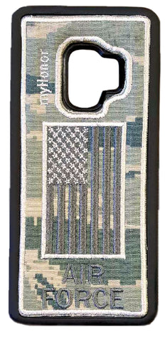 AIR FORCE - Fabric Slim Case - Samsung S9 - ABU