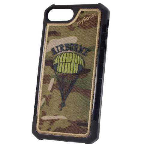 AIRBORNE - Embroidered Bumper Case - iPhone 6 Plus / 7 Plus / 8 Plus