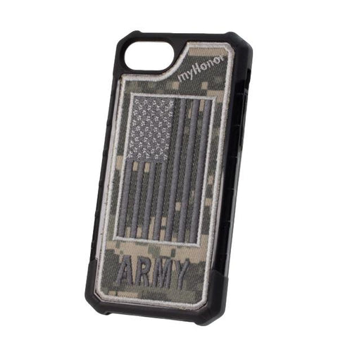 ARMY - Embroidered Bumper Case - iPhone 6 / 7 / 8 - ACU