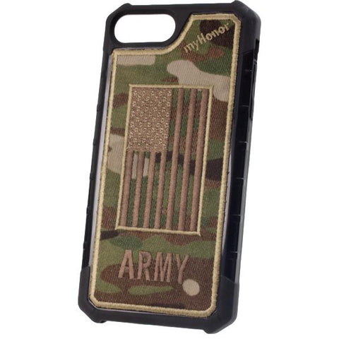 ARMY - Embroidered Bumper Case - iPhone 6 Plus / 7 Plus / 8 Plus - OCP
